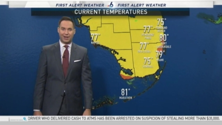 NBC 6's Ryan Phillips has your First Alert Weather forecast for Monday.