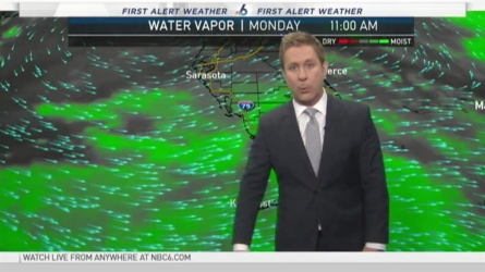 NBC 6's Adam Berg has your First Alert Weather forecast for Monday.