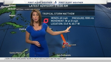 NBC 6's Erika Delgado has your First Alert Weather forecast for Wednesday.