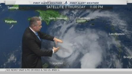 Hurricane Matthew Update -- 11 PM -- September 29, 2016