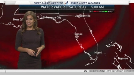 The much anticipated cold front continues to track through the southern half of the sunshine state, leaving in its wake cooler and more comfortable conditions. NBC 6 meteorologist Angie Lassman has the latest!