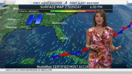 NBC 6 meteorologist Erika Delgado has your South Florida forecast as we head into our work week!