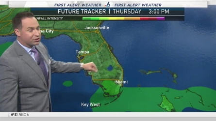 NBC 6's Ryan Phillips has your First Alert Weather for Wednesday