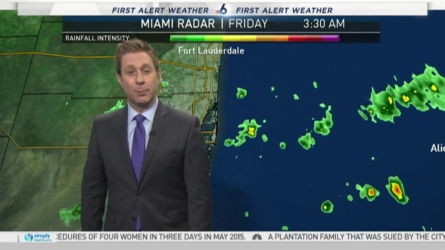 NBC meteorologist Adam Berg has your South Florida forecast as the work week comes to an end.