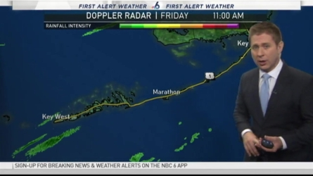 NBC 6's Adam Berg has your First Alert Weather forecast for Friday and the weekend.