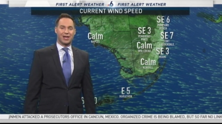 NBC 6's Ryan Phillips has your First Alert Weather forecast for Wednesday.