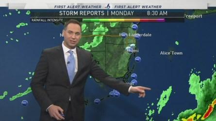 Miami Weather Forecast -- 9 AM -- January 23, 2017