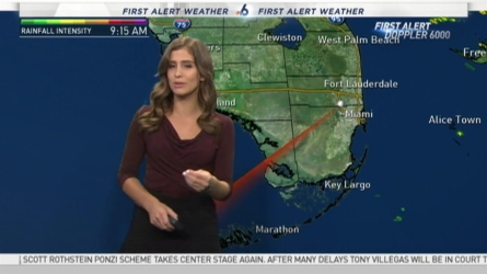 <p>We've got dry skies with some chances of showers on this toasty Sunday. NBC 6 meteorologist Angie Lassman has your latest South Florida forecast.</p>
