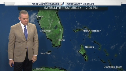 <p>South Florida's Chief Meteorologist John Morales says you can enjoy the weekend, because we can expect no rain in the forecast.</p>