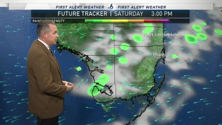 <p>NBC 6 chief meteorologist John Morales provides a forecast update.</p>