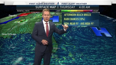 <p>Adam Berg has your First Alert Weather forecast.</p>