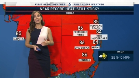 <p>NBC 6's Angie Lassman has your First Alert Doppler 6000 Forecast for Monday.</p>