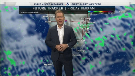 <p>NBC 6's Adam Berg has your First Alert Doppler 6000 Forecast for Friday and the weekend.</p>