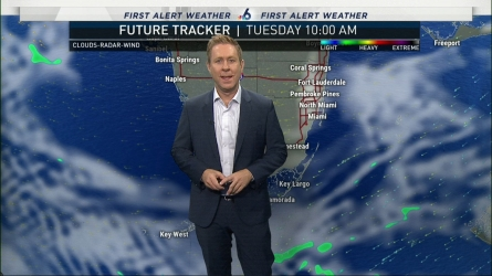 <p>NBC 6's Adam Berg has your First Alert Doppler 6000 Forecast for Tuesday.</p>
