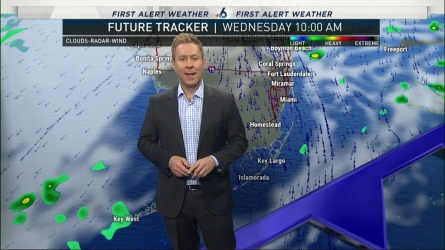 <p>NBC 6's Adam Berg has your First Alert Doppler 6000 Forecast for Wednesday.</p>