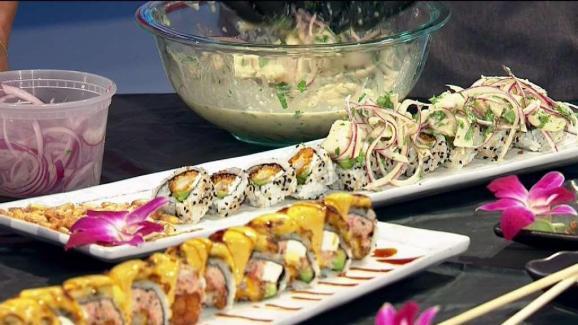 Fabulous Food Inari Sushi Nbc 6 South Florida