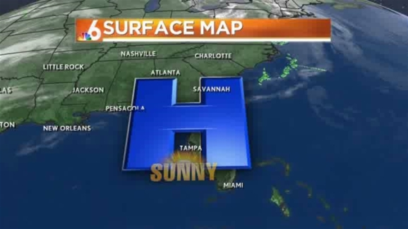 Airport Weather Map.Weather Forecast 7 30 Am February 18 2014 Nbc 6 South Florida