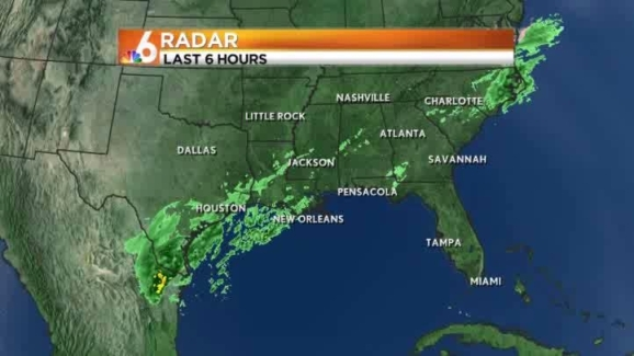 Little Rock Weather Map.Weather Forecast 7 30 Am Jan 2 2013 Nbc 6 South Florida