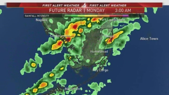 First Alert Weather Day Forecast 11pm Nbc 6 South Florida