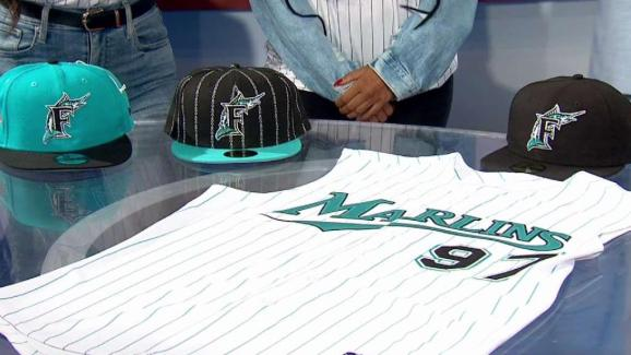 the latest 8a91a a5a67 Miami Marlins Celebrate Throwback Weekend