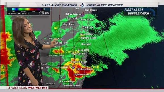Severe Weather In South Florida Friday Nbc 6 South Florida