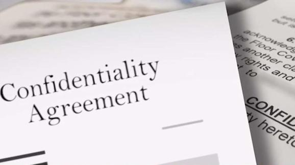 What To Consider Before Signing A Confidentiality Agreement Nbc 6