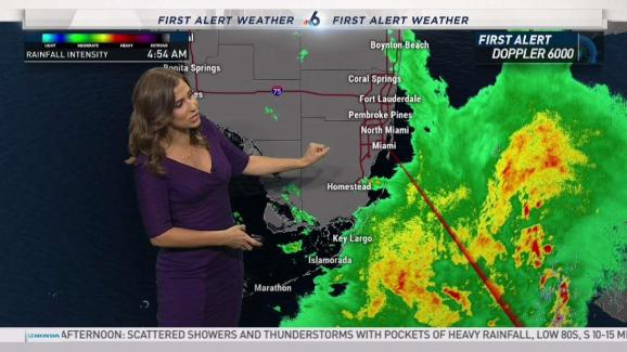 Florida Weather Map.South Florida Weather Forecast 5 45 Am May 28 2018 Nbc 6