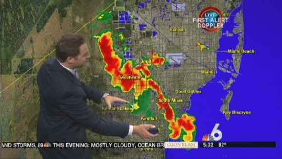 Weather Map For Florida.Weather Forecast Jun 27 6 A M Nbc 6 South Florida