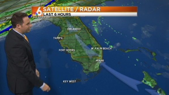 Weather Forecast For 5 30 A M On Monday Dec 23 2013 Nbc 6 South