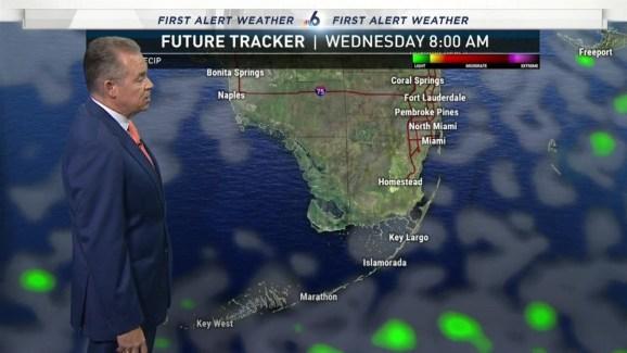 South Florida Weather Forecast   7 PM   January 1, 2019   NBC 6
