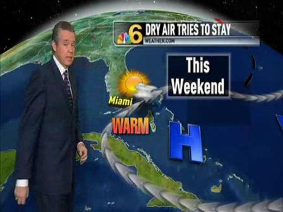 Weather Forecast -- 6:30 P M  -- July 8, 2010