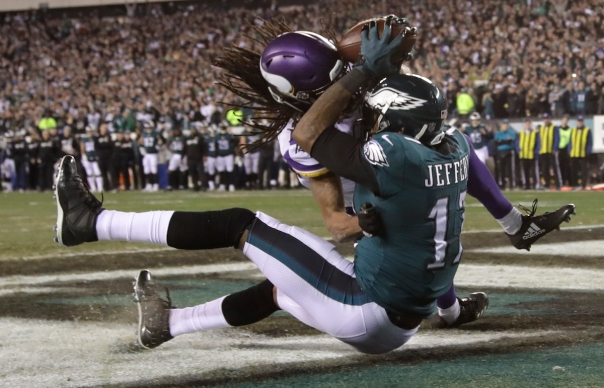 NFL Playoffs: Eagles Dominate Vikings in NFC Title Game
