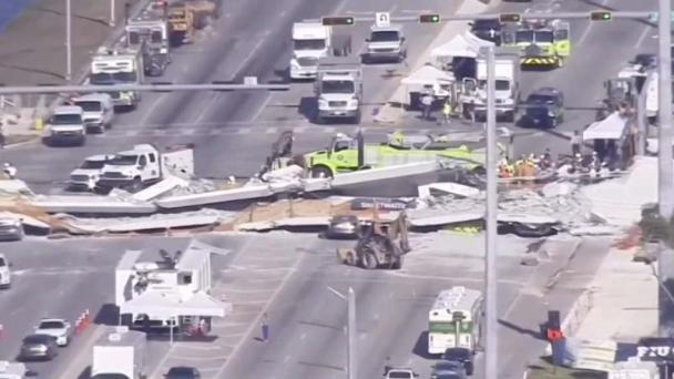 Engineers Dismissed Crack Concerns on Morning of FIU Bridge Collapse