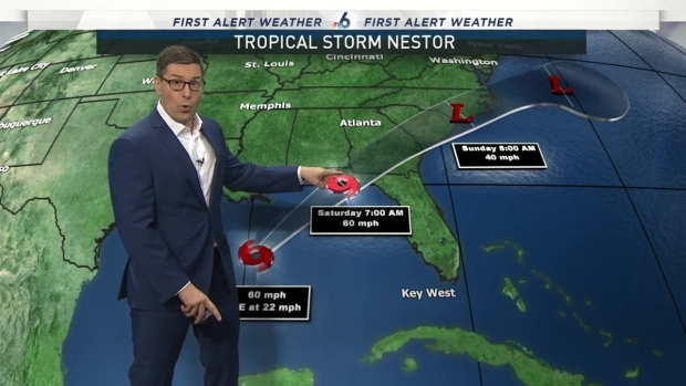 [MI] Tropical Storm Nestor Forms