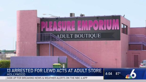 Pleasure adult store