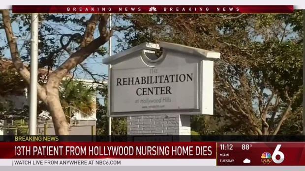 [MI] 13th Patient of Hollywood Nursing Home Dies