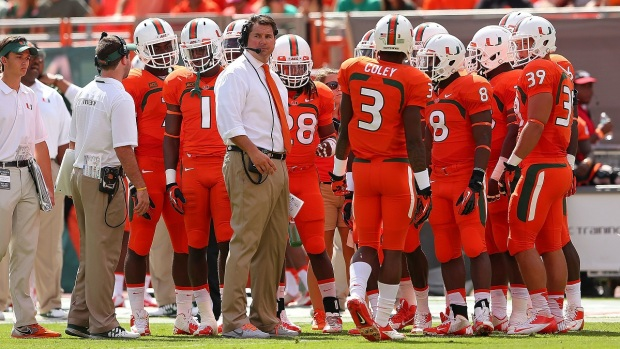 Photos: Canes Storm Back Against Wake