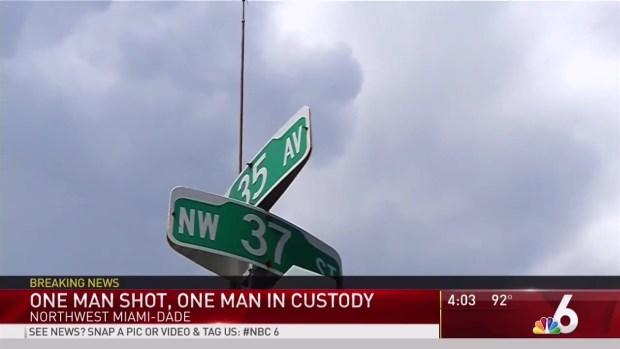 [MI] 1 Shot, 1 in Custody in NW Miami-Dade