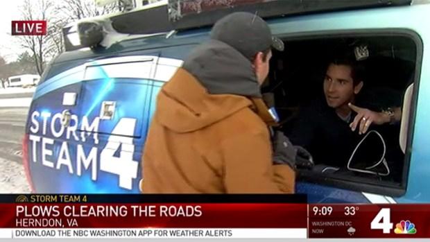 [NATL-DC] Adam Tuss Brings David Culver Ice Cream -- in the Snow