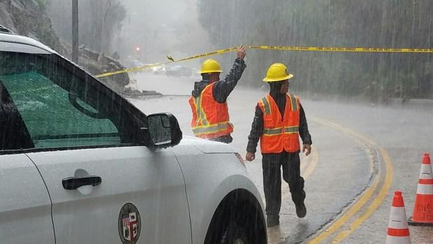 Winter Storms Slam California