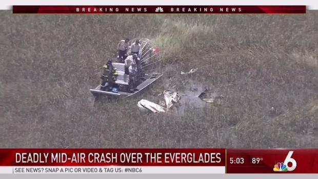 [MI] 3 Dead After 2 Small Planes Collide Over Everglades