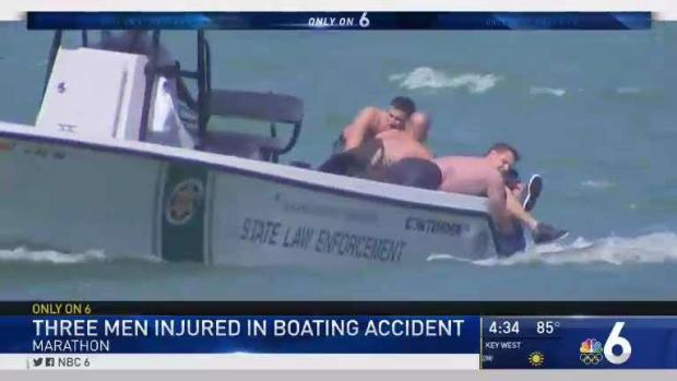 [MI] 3 Injured in Boating Accident Near Marathon