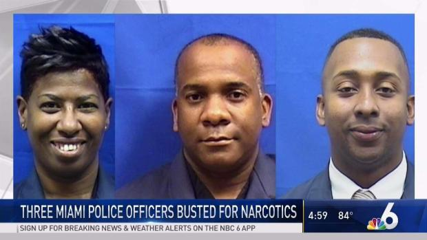 [MI] 3 Miami Police Officers Facing Federal Drug Charges