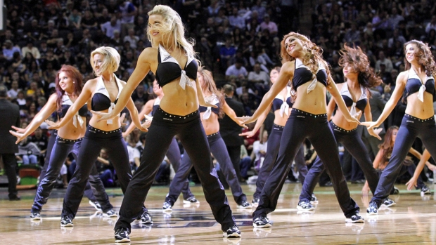 NBA Dancers 2013-2014