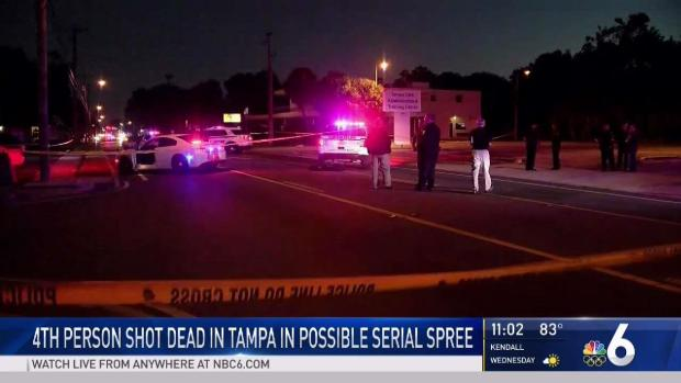 [MI] 4th Person Shot Dead in Tampa in Possible Serial Spree