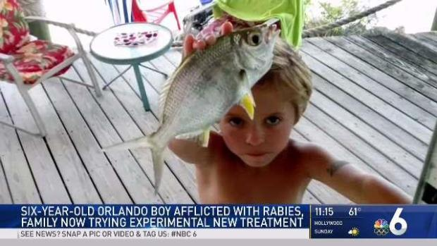 [MI] 6-Year-Old Orlando Boy With Rabies Fights for Life