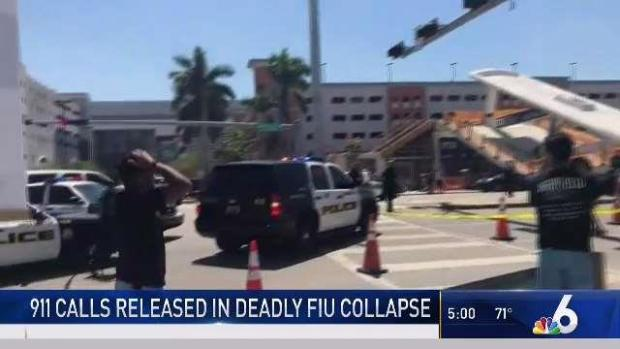 [MI] 911 Calls Released in Deadly FIU Bridge Collapse