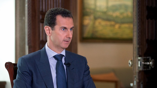 Assad Blame'Terrorists For Convoy Attack