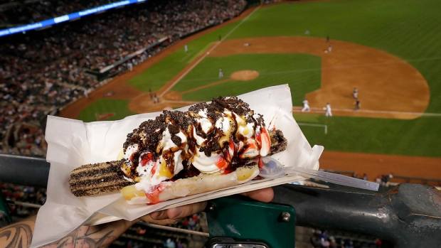 MLB Menus Offer Absurd Creations to Draw Fans