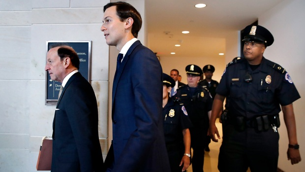 Top News Photos: Kushner interviewed on Capitol Hill